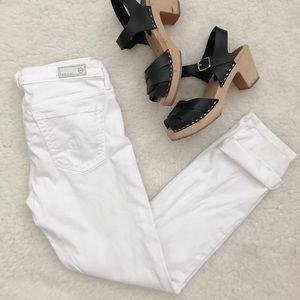 AG white skinny pant